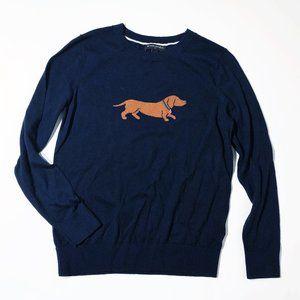 Banana Republic Dachshund Dog Sweater Top
